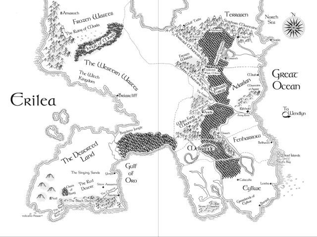 throne of glass world map How Well Do You Know Ya Maps Throne Of Glass Series Throne Of