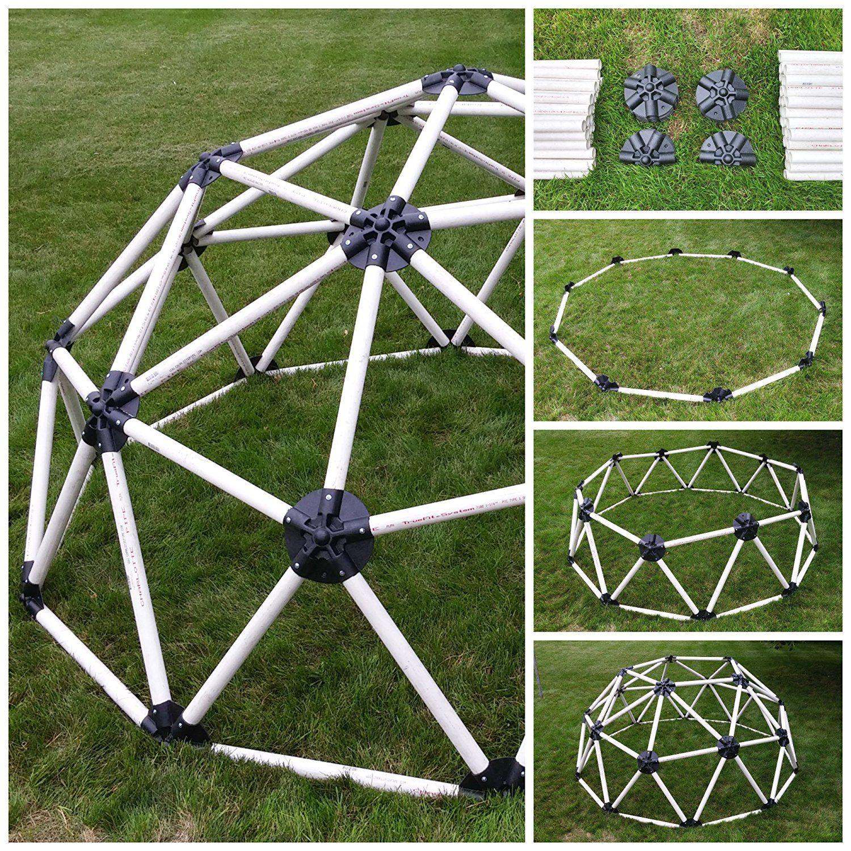 Geodesic Dome Home Kits: Amazon.com : DIY Geodesic Dome Hub Connector Kit For PVC