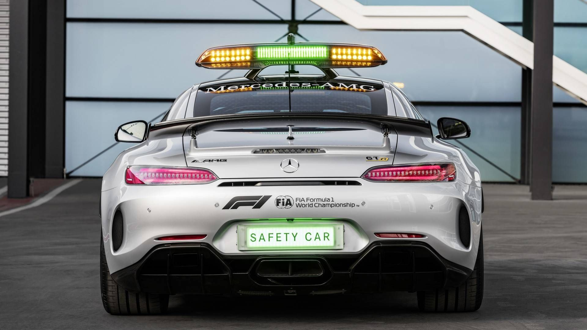 MercedesAMG GT R Revealed As The Most Powerful F1 Safety