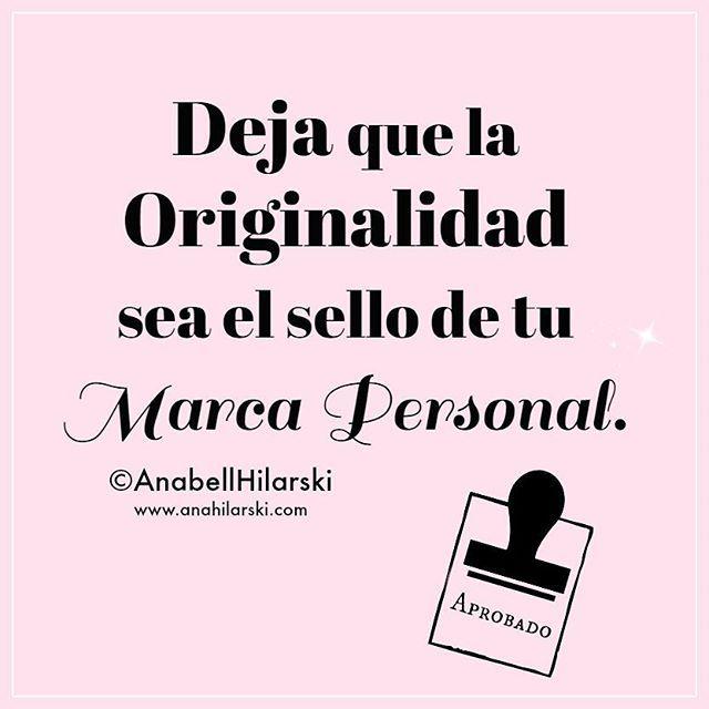 Deja que la Originalidad sea el sello de tu Marca Personal http://ift.tt/1L6mVOo #marcapersonal #emprendedores