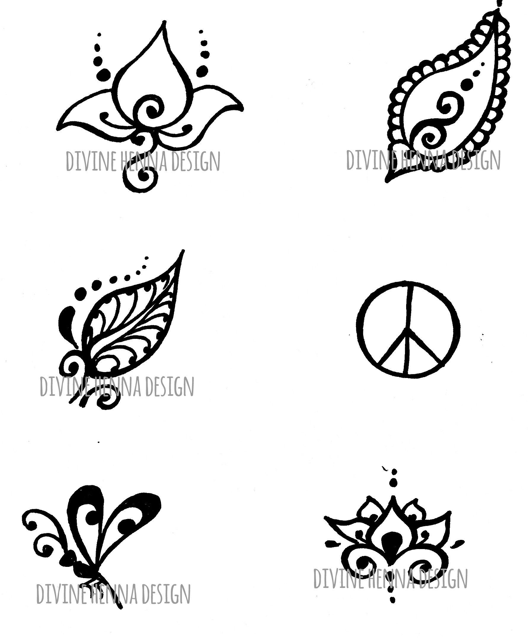 White henna design 5 five white henna designs - Henna Designs Google Search