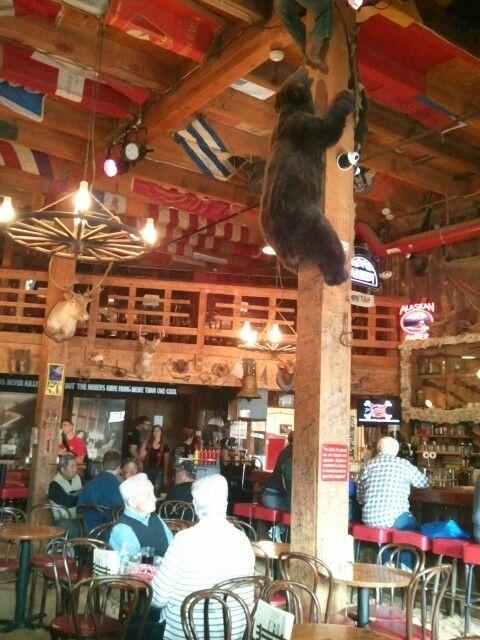 Red Dog Saloon,  Juno, Alaska. Best Bloody Mary & friendliest bar!