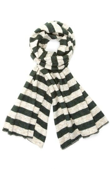 Cashmere Rugby Scarf.