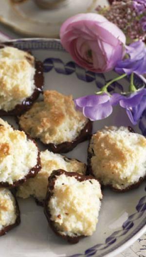 Kokosmakroner Opskrift Isabellas Bagværk Og Desserter Pastry
