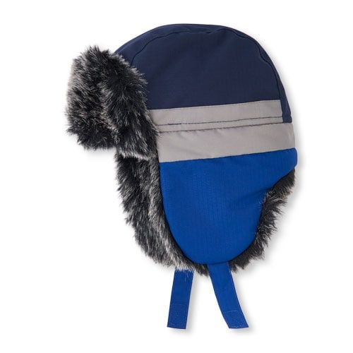 30a89d70b0d Toddler Boys 3-In-1 Faux Fur Trapper Hat