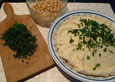 Hummus a tahini
