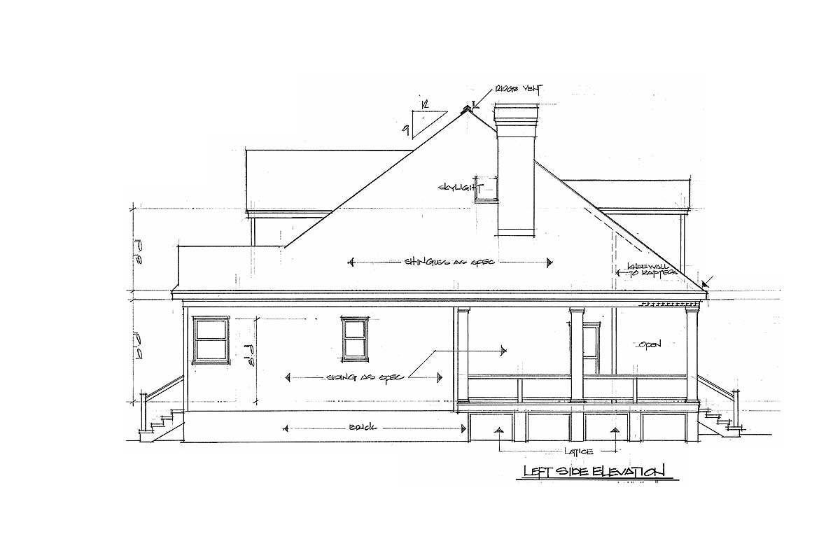 Plan 5669TR Adorable Southern Home Plan Southern house