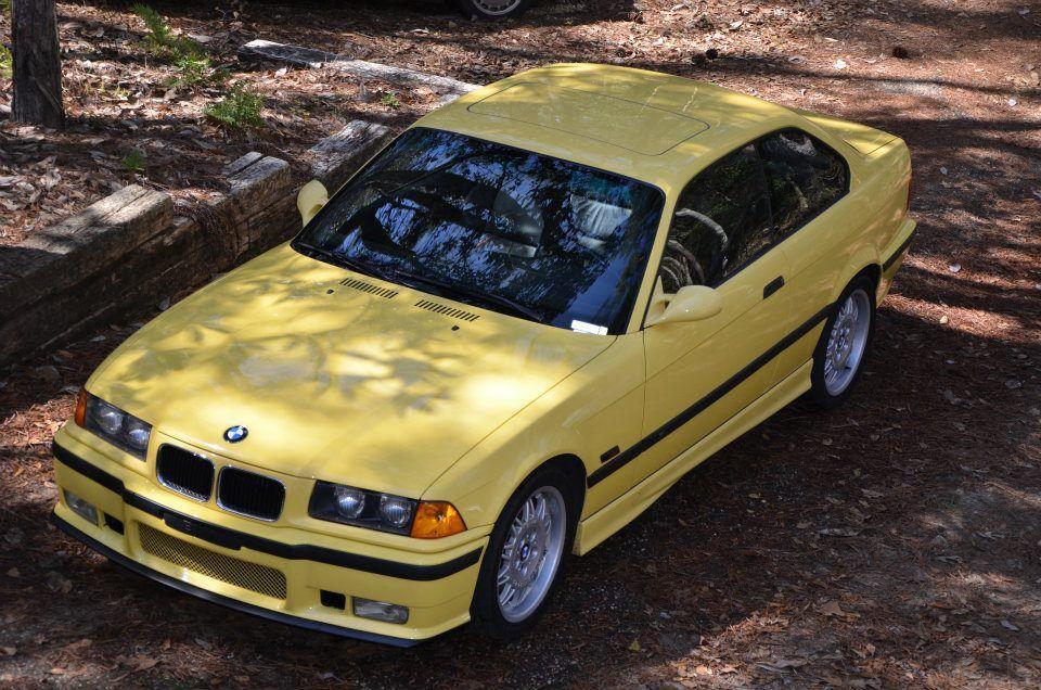 1995 BMW M3 Dakar Yellow Cars Pinterest 1995 bmw m3