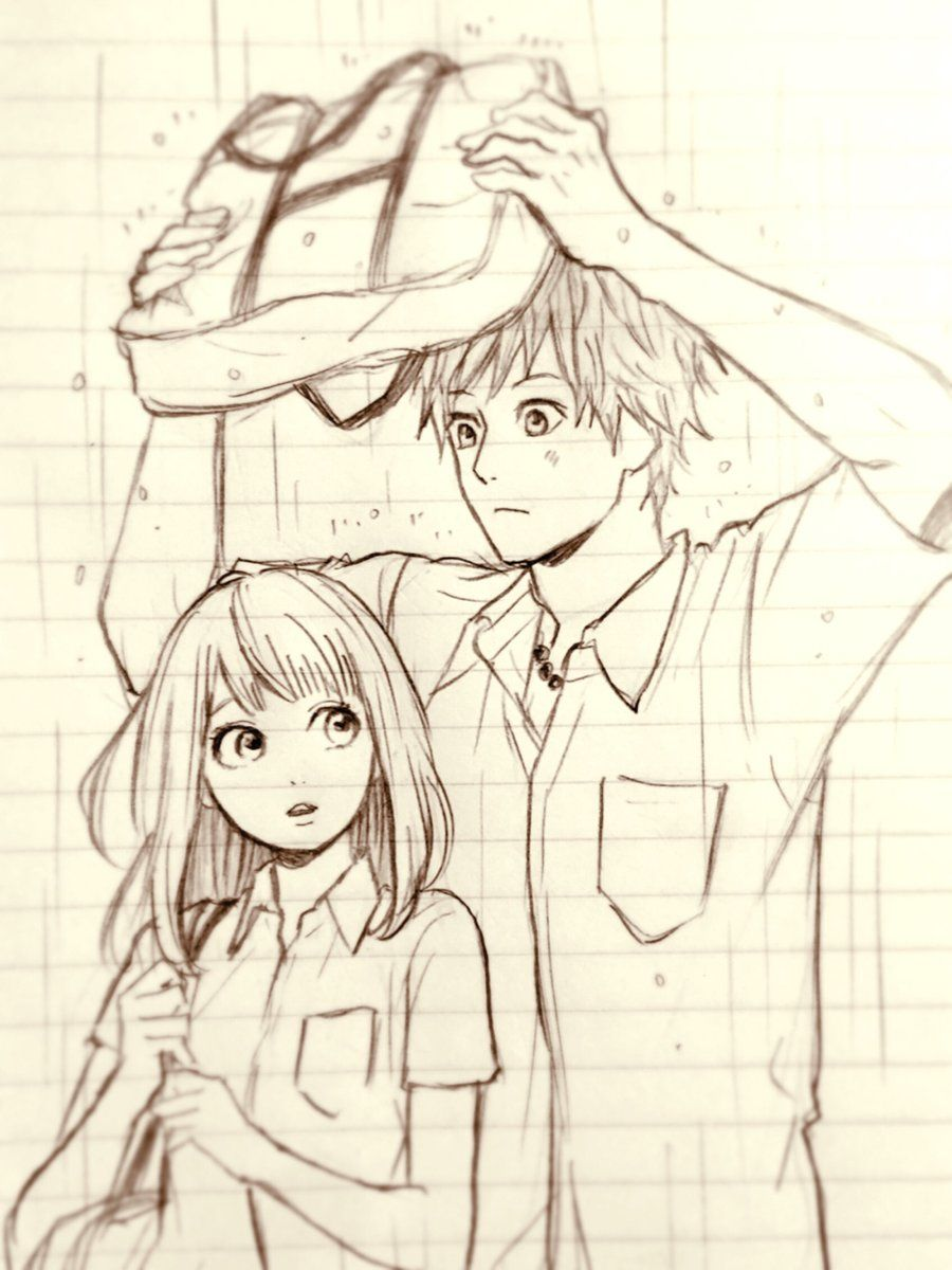 Anime, Anime Art, Anime Sketch