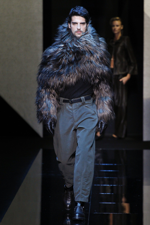 Giorgio Armani Fall 2017 Menswear Fashion Show Mens Outfits Menswear Mens Fashion Urban
