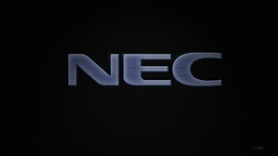 Nec Nec Background Nec Logo Brand Logo Wallpaper Hd