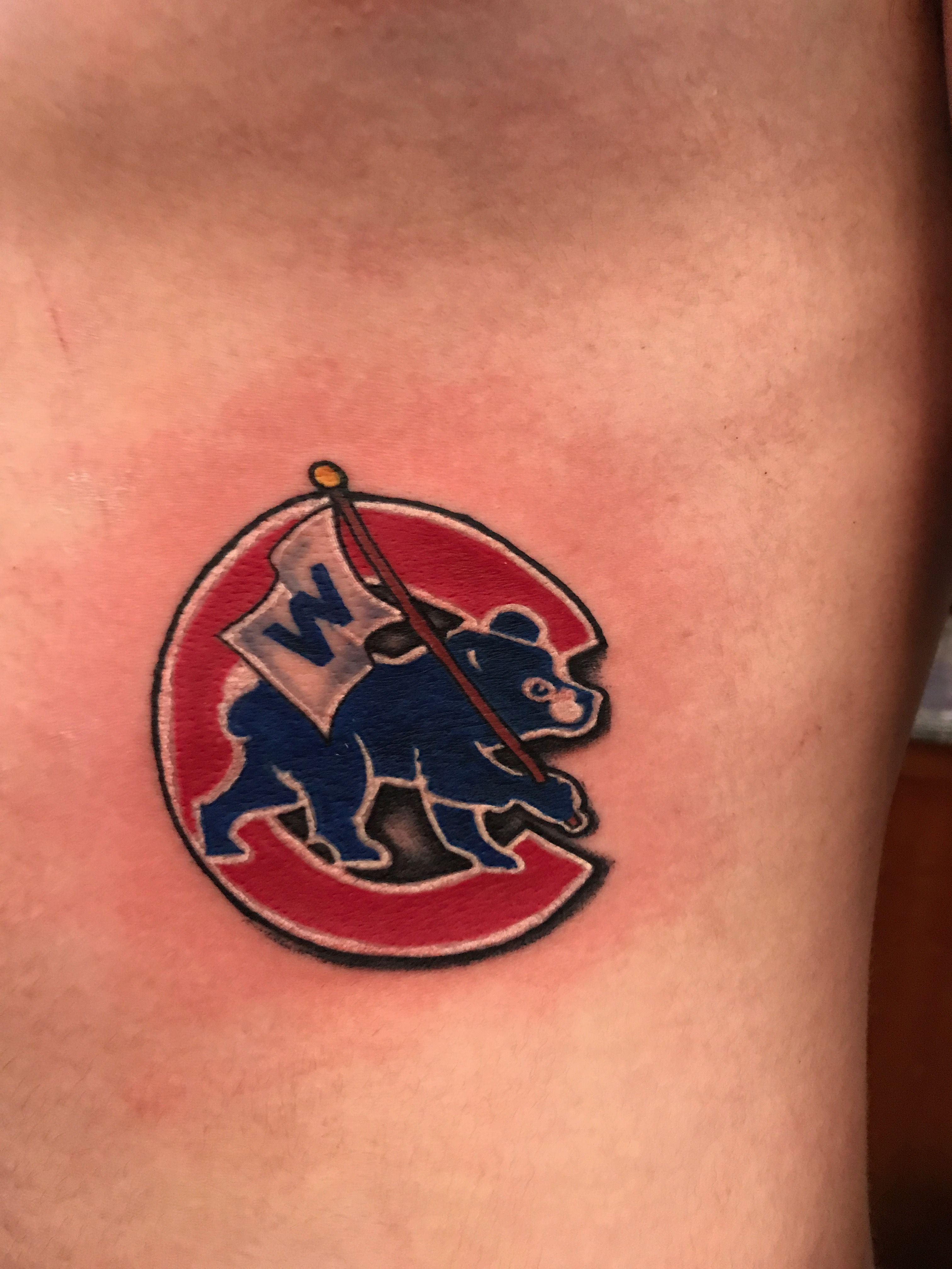 Go cubs gofly the w chicago cubs logo tattoo chicago go cubs gofly the w chicago cubs logo tattoo biocorpaavc Gallery