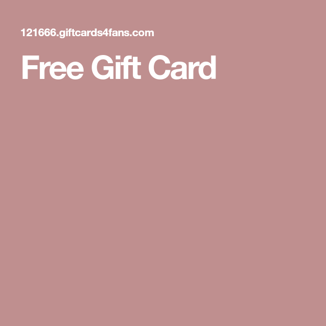 Free Gift Cards, Gift Card Deals, Gift Card