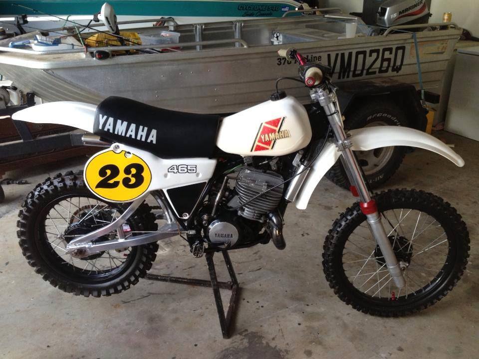 1981 Yamaha Yz465 European Version Vintage Dirt Pinterest