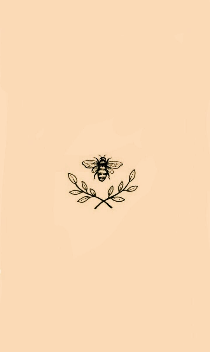 Wallpaper Iphone Huawei Bee Pink Leaves Draw Drawings Cute Backgrounds For Iphone Wallpaper Watch Wallpaper