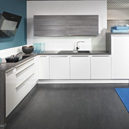 Ps Veddinge White With Gray Tops Kitchen Cabinet Design Kitchen Design White Gloss Kitchen