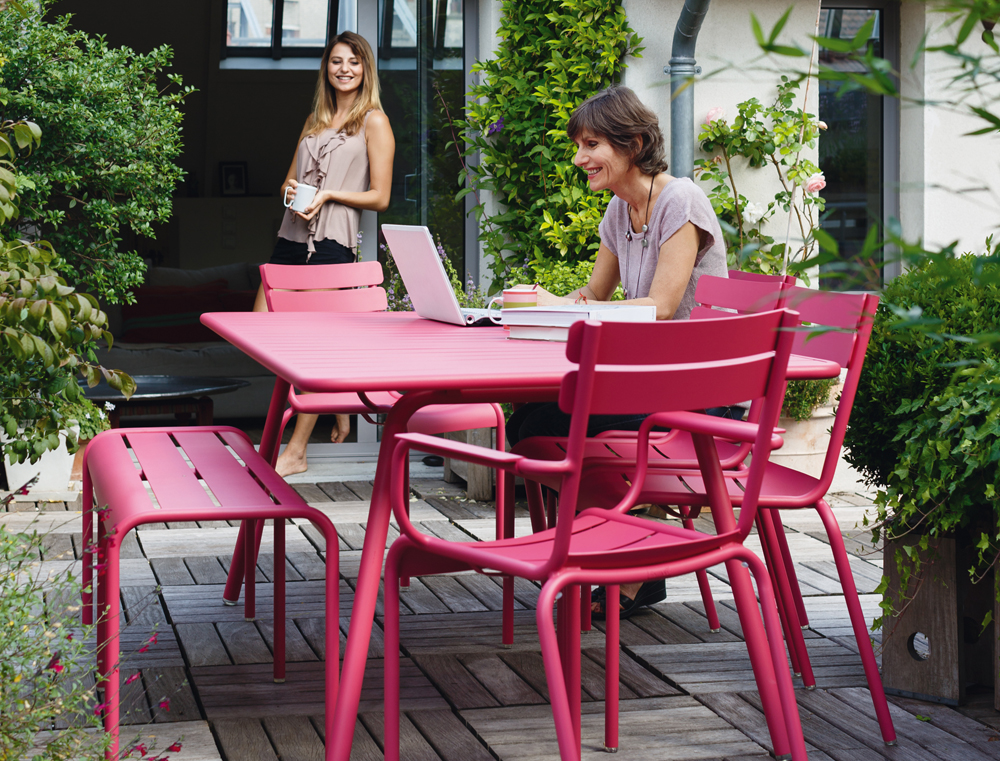 Outdoor lounge Luxembourg - Fermob photo 1 - Photo credit ...