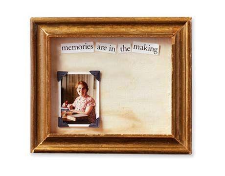 Make a Memory Frame