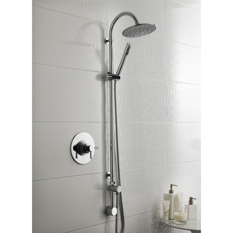 Destiny Shower Kit with Spirit Concealed Thermostatic Dual Shower Valve