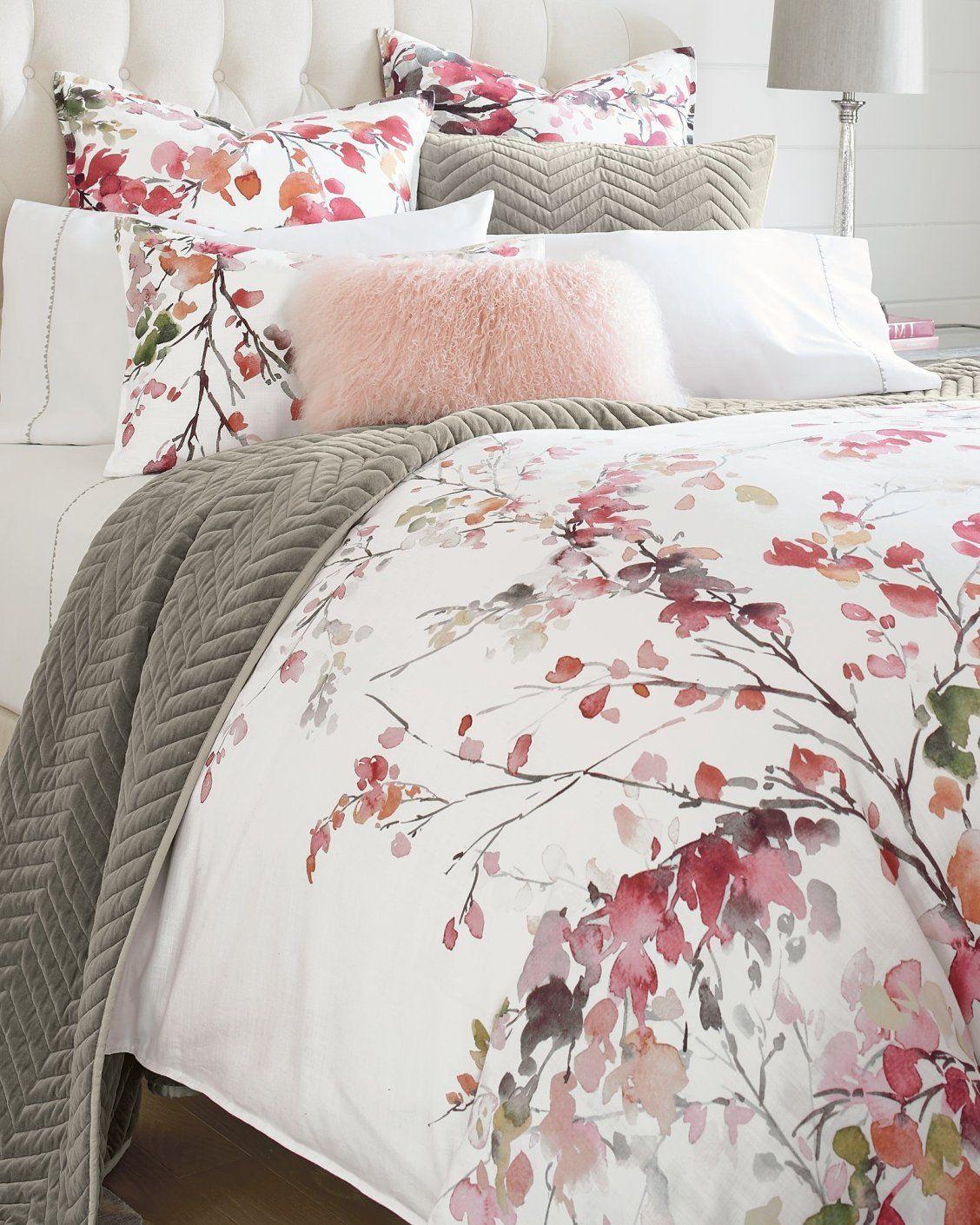 Autumn Blossom Duvet Cover And Shams Luxury Bedding Bedding