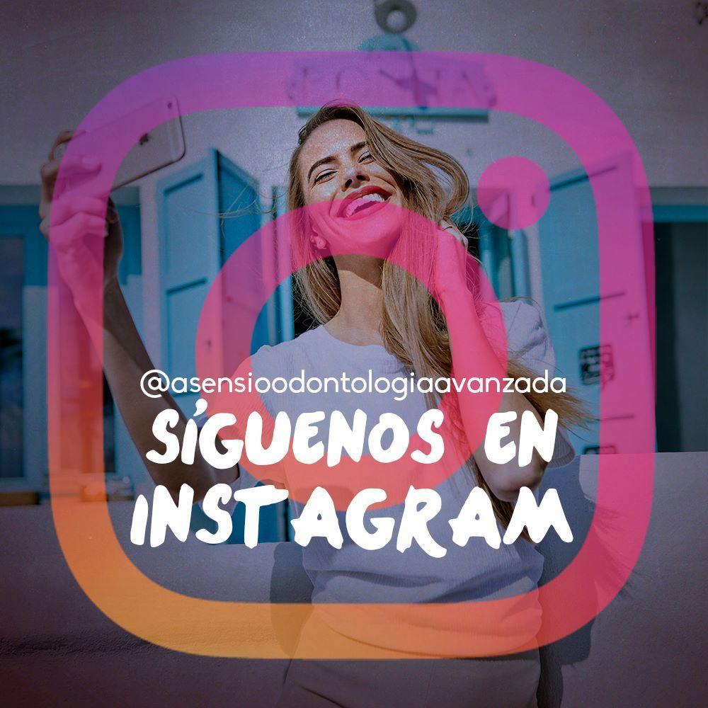 ¿Qué aún no nos sigues en Instagram? Corre, date prisa! :)