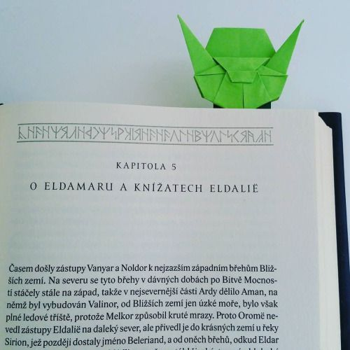 New Day New Origami Origami Bookmark Bookmarkyoda Yoda