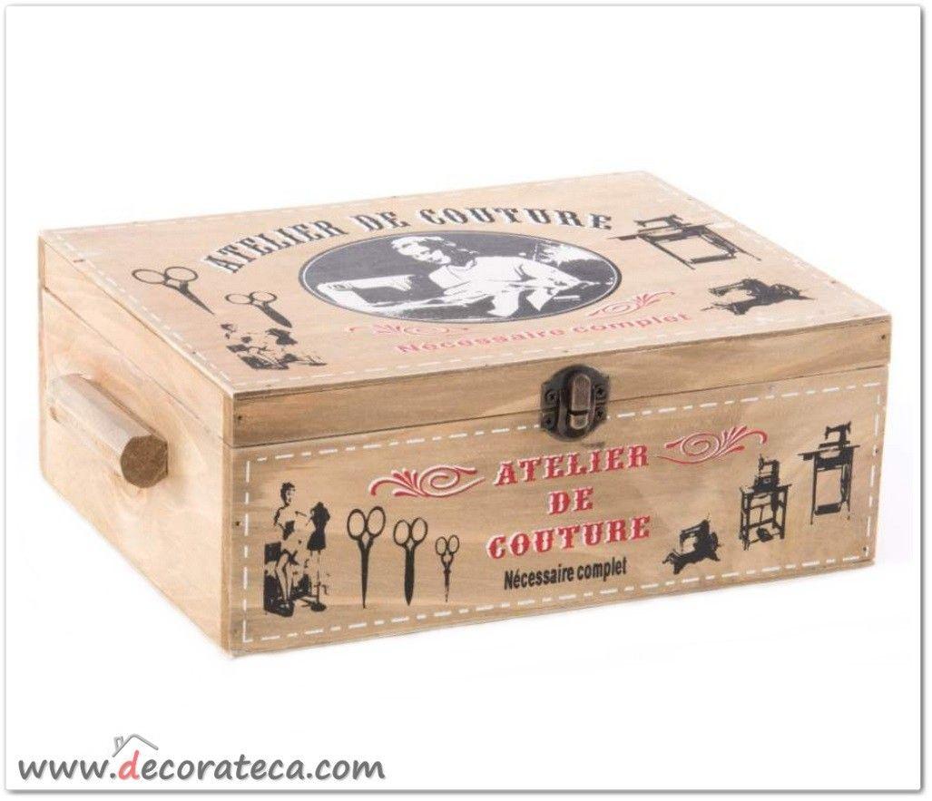 Caja De Madera De Vino Cajas de un frasco uno sin pintar Artesanal Decoupage 1 espacio