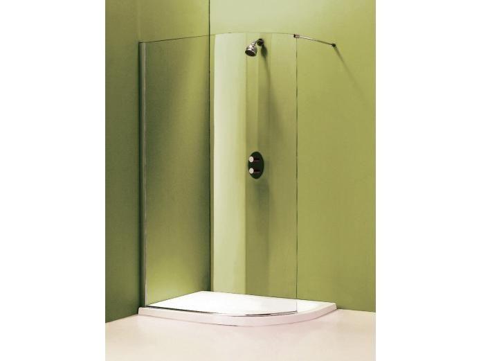 Kado arc walk in shower frameless no door so excellent - Doors for tight spaces ...