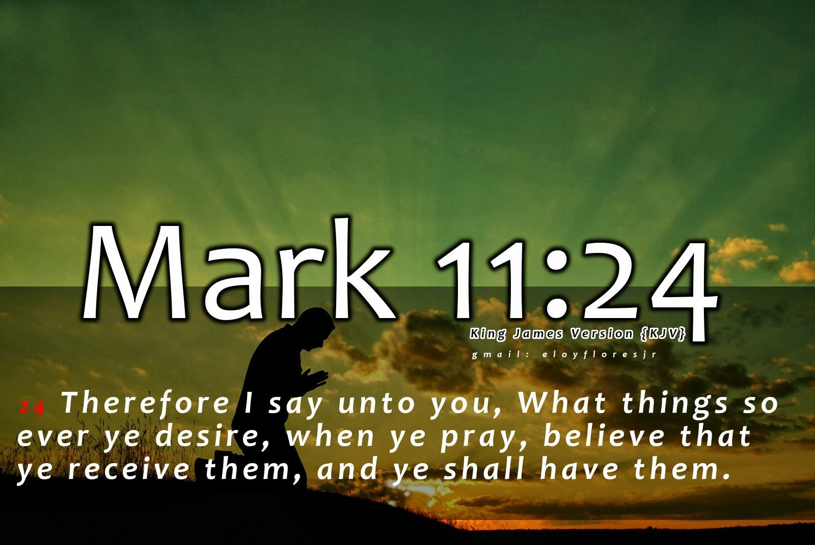 Bible Verse Mark 11:24 | Bible Verses | Bible verse pictures, Bible