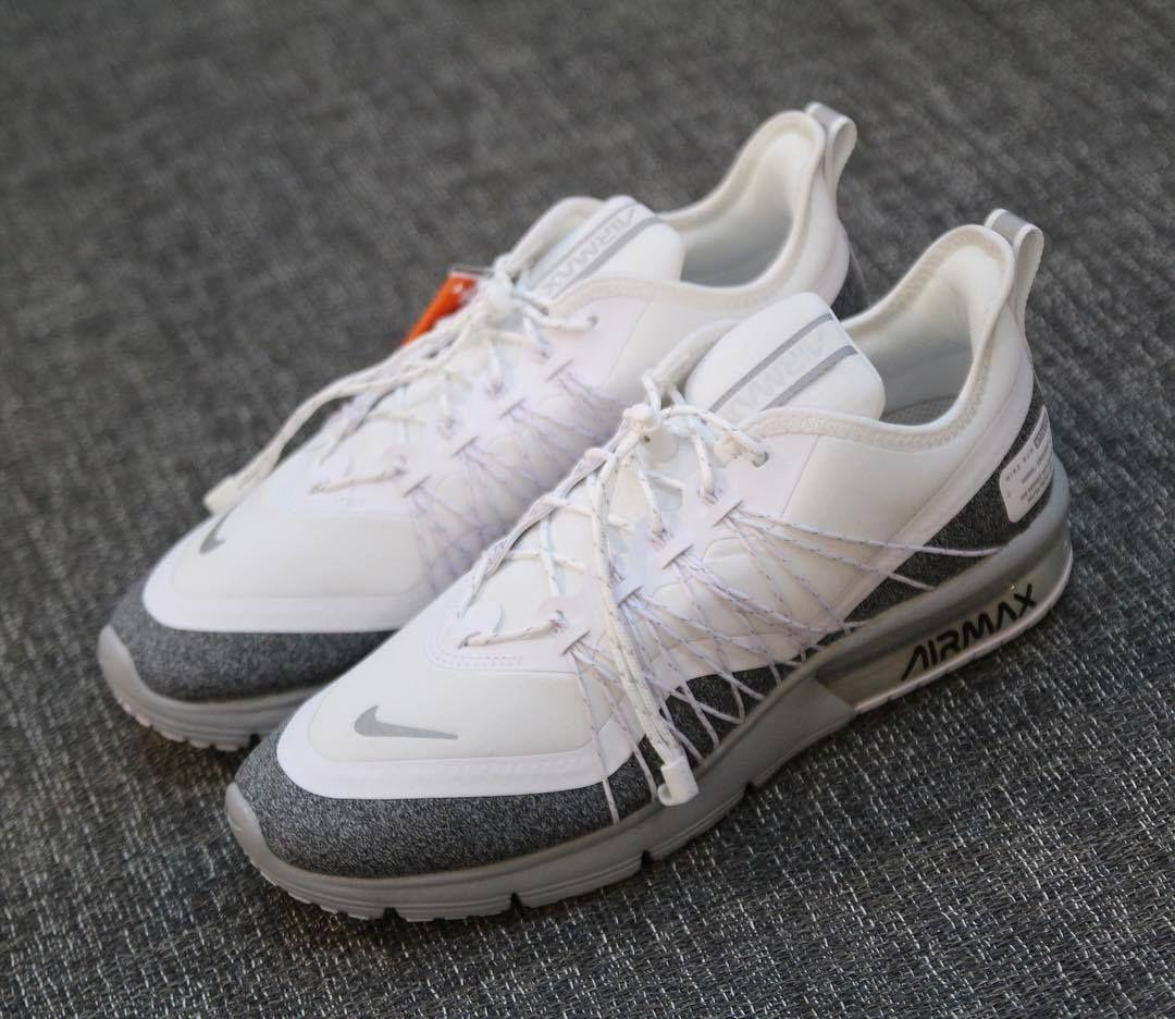 Tênis Nike Air Max Sequent 4 Utility Feminino Branco e