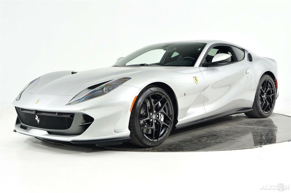 2019 Ferrari 812 Superfast Certified Cpo Carbon Fiber Led 20 Forged Wheels Full Electric Seats High Power Hifi Shield In 2020 Ferrari Forged Wheels Ferrari Convertible