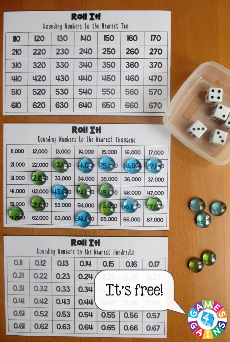 Roll It! Rounding Game
