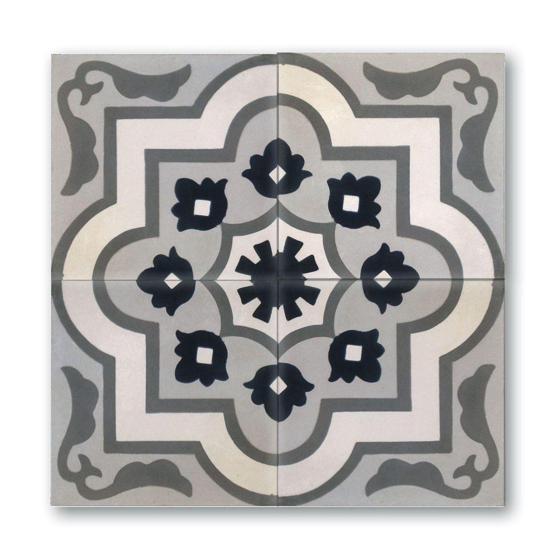 London Apothecary Cement Tiles In Stock Now Tiles Cement Tile Encaustic Tile