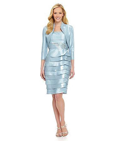 2b915c65e86 Jessica Howard Bolero Jacket Dress