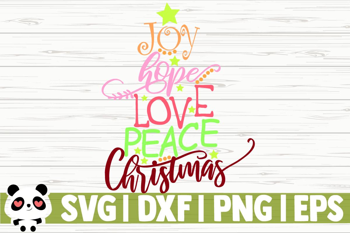 Download Joy Hope Love Peace Christmas
