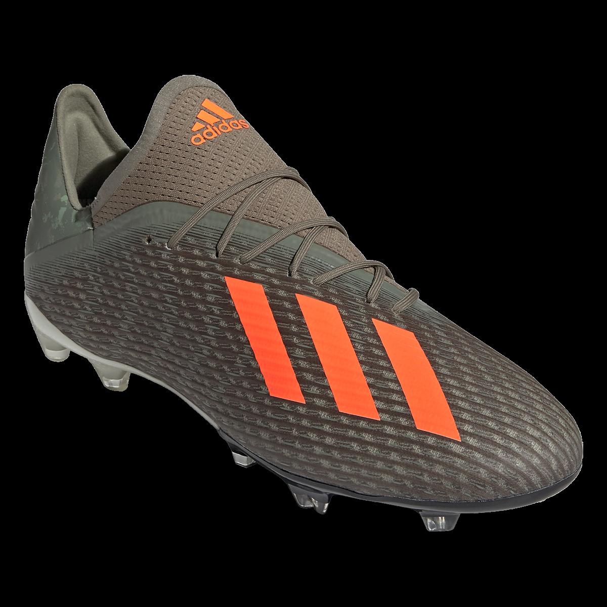 Adidas X 19 2 Fg Soccer Cleats Legacy Green Solar Orange Chalk White 12 In 2020 Soccer Cleats Cleats Chalk White