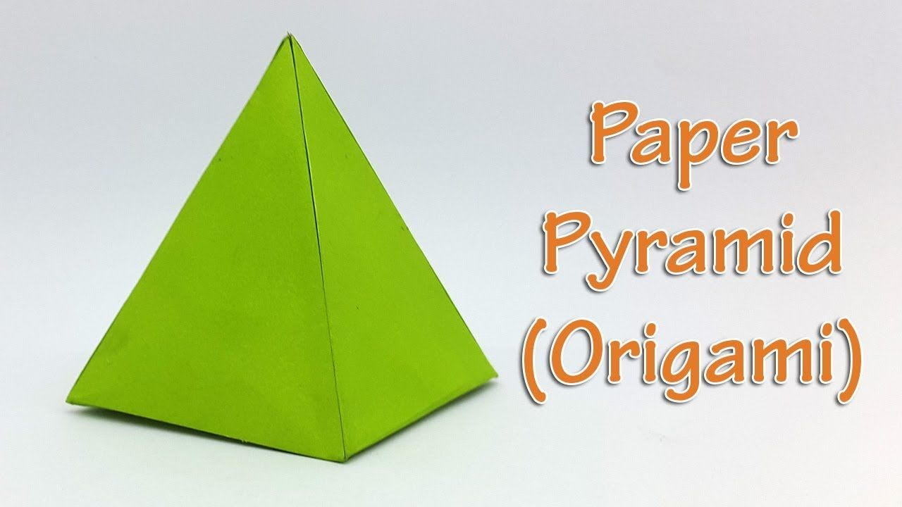 Paper Pyramid Easy Tutorial