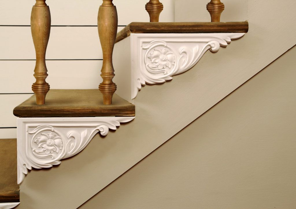 Dress Up Your Stairs With Decorative Stair Brackets