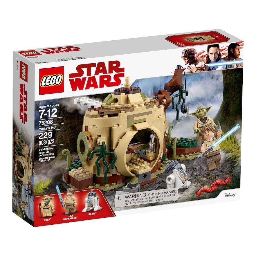 Lego Star Wars Yodas Hut Set 75208 Products Star Wars Toys