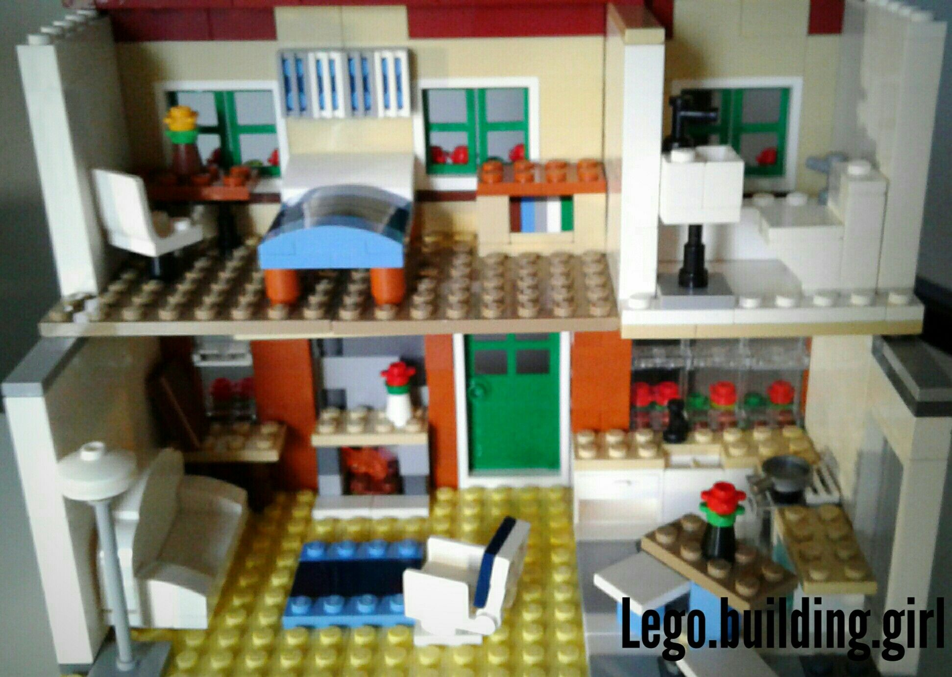 Lego House Interior By Lego.building.girl Part 2