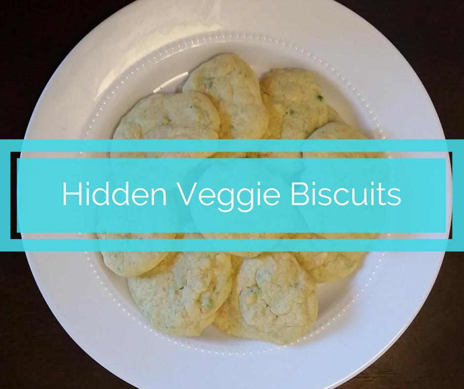 dairy free hidden veggie biscuits
