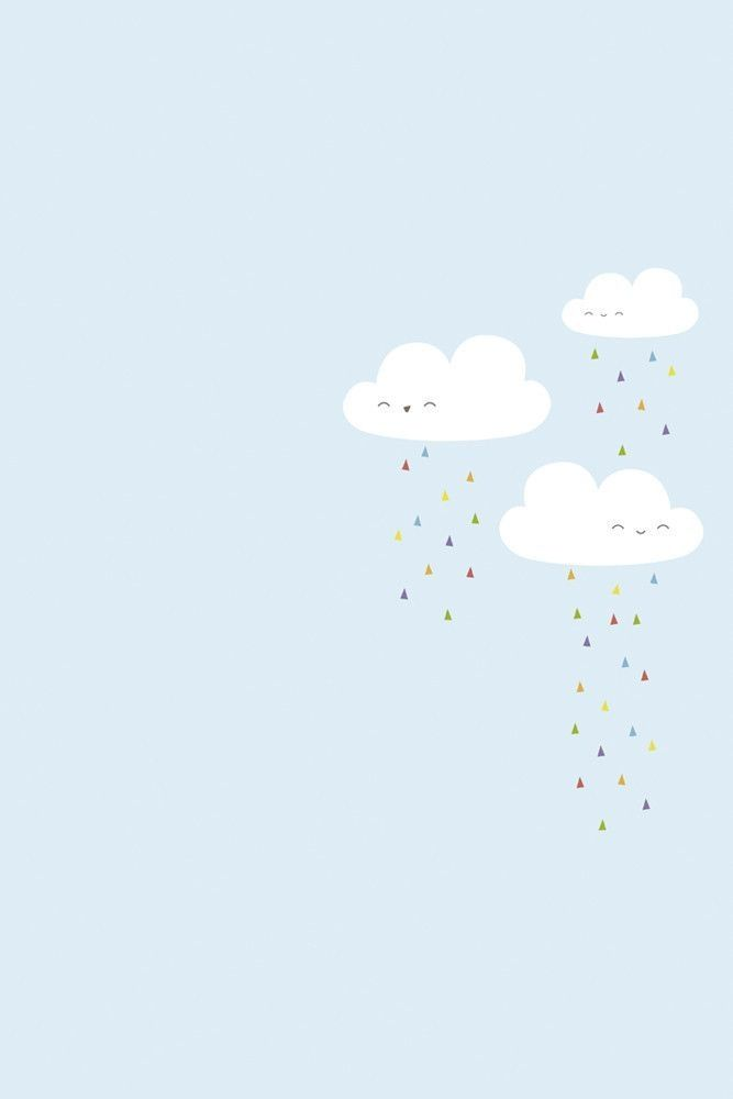 Clouds Illustration Cute Wallpapers Cute Wallpaper Backgrounds