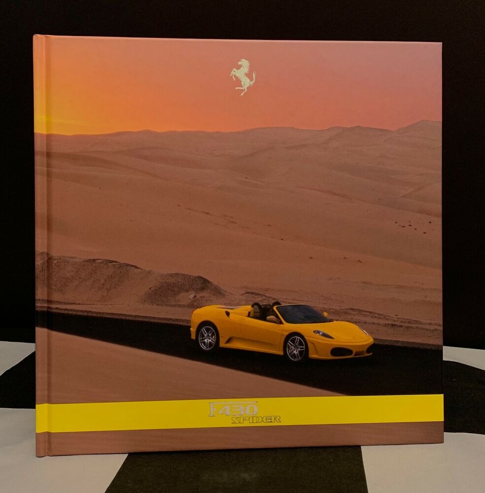 Pin On Ferrari Brochures Manual Other Literature