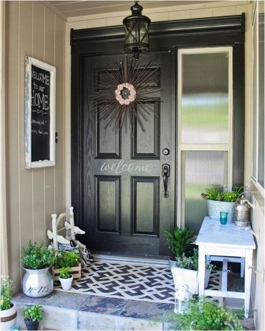 8 More Ways To Add Curb Eal Front Porch Makeover Small