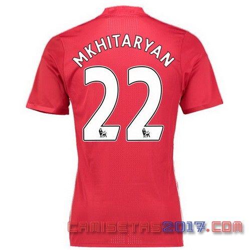 camiseta MKHITARYAN Manchester United 2016 2017 primera