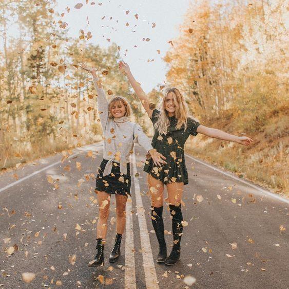 Fall Photoshoot, Friend Photoshoot