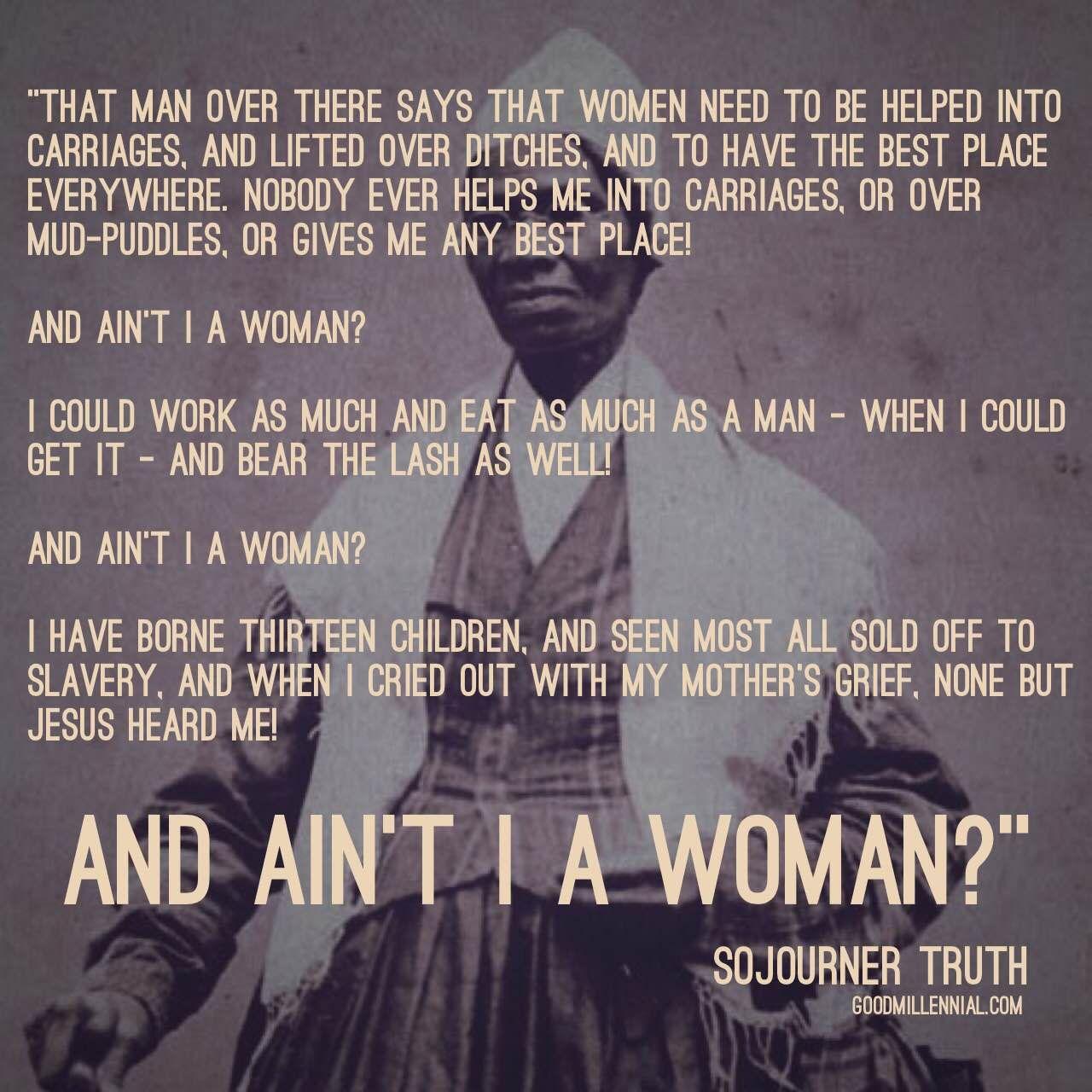 Celebrating Women's History Month: Sojourner Truth ...