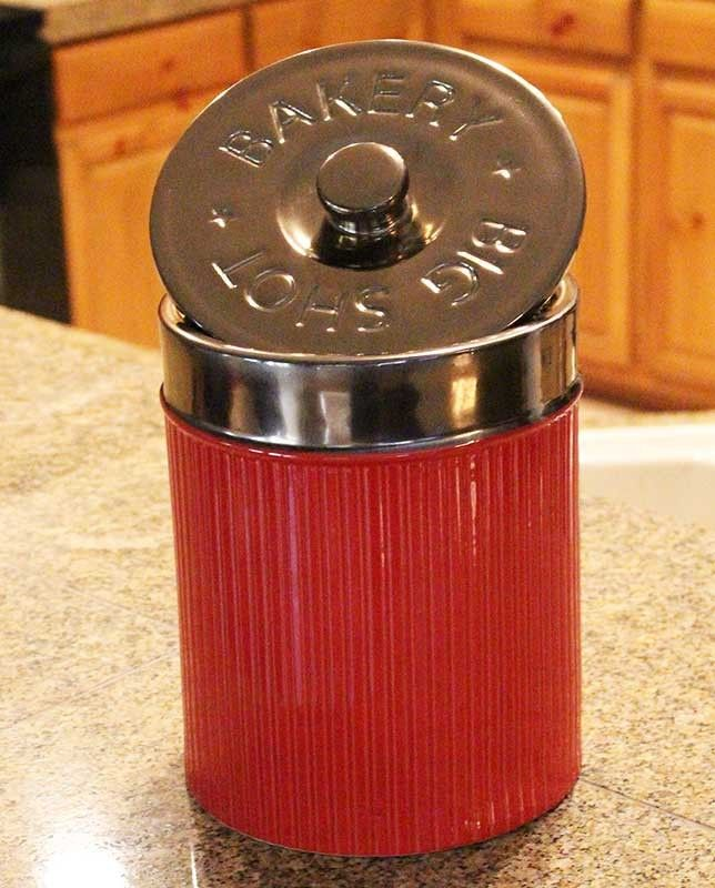 "Big Shot ""Shotgun Shell"" Canister"