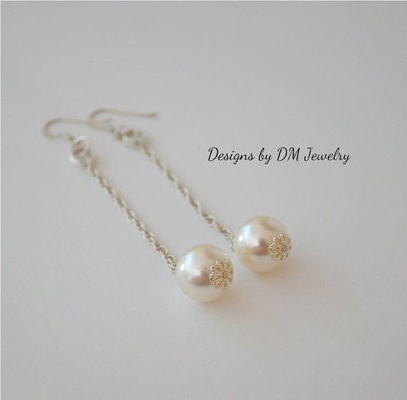 South Sea pearl shell large round white by DesignsbyDMCandles