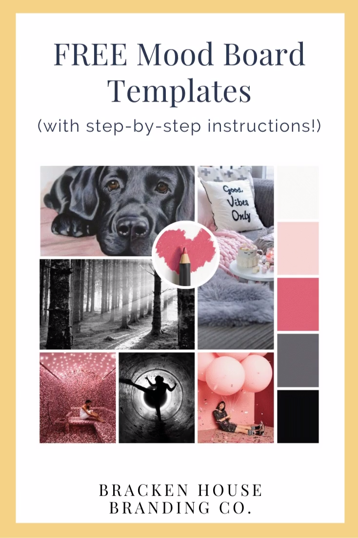 Free Mood Board Templates & Instructions